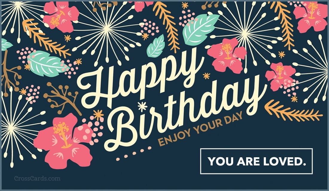 Free Happy Birthday Enjoy Your Day Ecard Email Free Personalized Birthday Cards Online