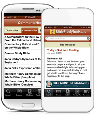 Access the largest library of Bible versions and study tools from your