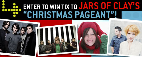 "Enter to Win Tix to Jars of Clay's ""Christmas Pageant""!"