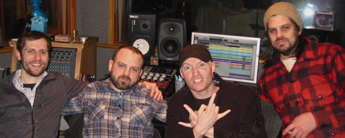 In The Studio With Thousand Foot Krutch