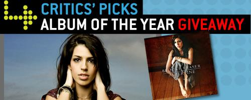 Critics' Picks Album of the Year Giveaway