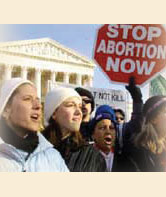 Roe vs. Wade: Abortion's Religious Dimension