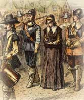 "Mary Dyer Hanged for ""Wrong"" Faith"