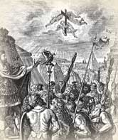 Constantine Triumphed under Sign of Cross