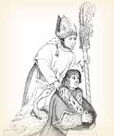 King John Was Pallbearer for Saint Hugh