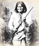 Baptism of Indian Warrior Geronimo