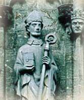 Beloved Bishop St. Swithun