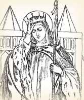 Humble Queen Bathilde