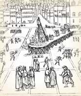Savonarola Burned Art Works