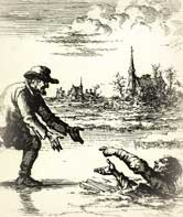 Dirk Willem Burned after Rescuing Pursuer