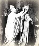 Charlemagne Crowned as Holy Roman Emperor