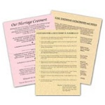 A FREE OFFER! Marriage Parchment Sheets