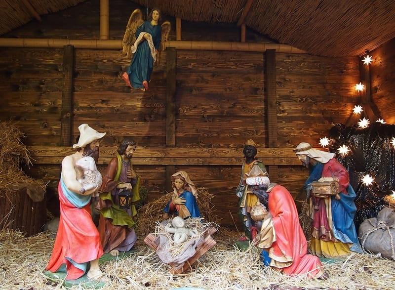Fotos De El Pesebre De Jesus.Nacimiento De Jesus Historia De La Biblia Historias Biblicas