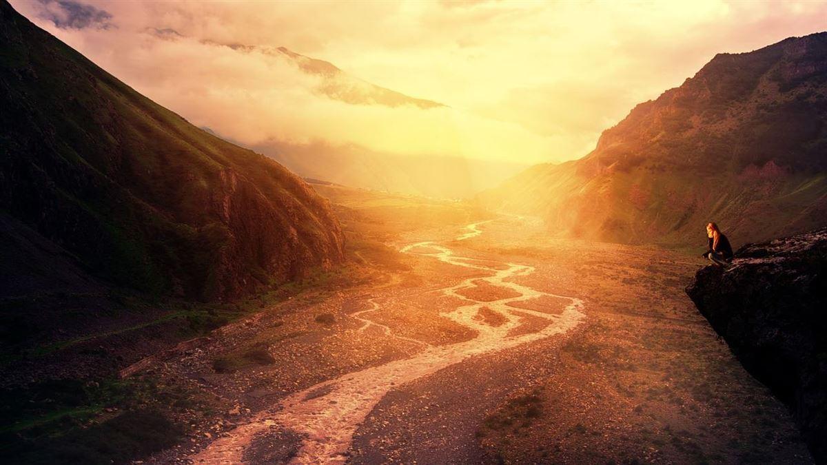 """""""Algo realmente hermoso y necesario ocurre en el valle"""""""