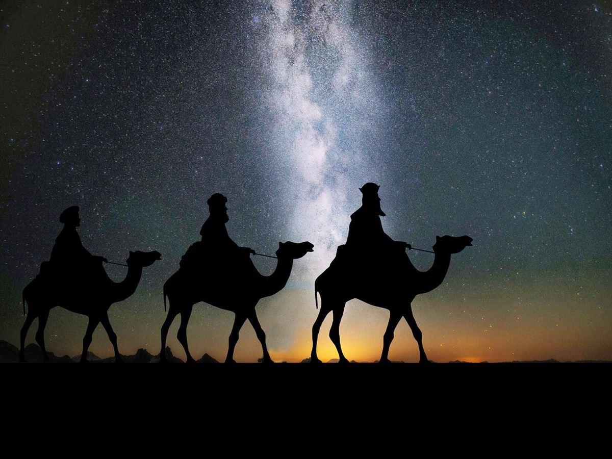 Los tres hombres sabios del oriente - Historia de la Biblia