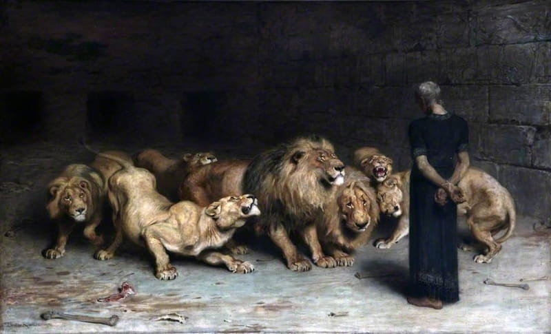 Daniel In The Lions Den Bible Story Verses Meaning