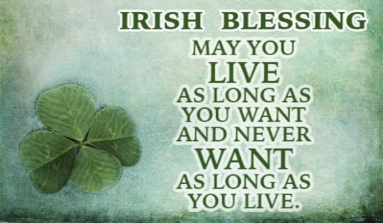 irish blessing for life