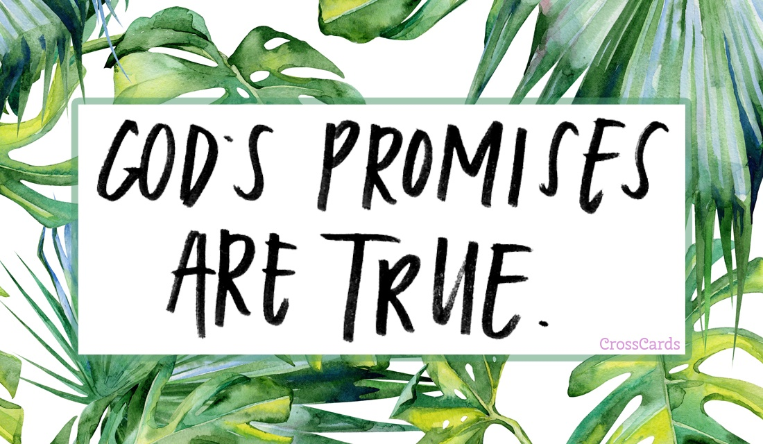 God's Promises Are True ecard, online card