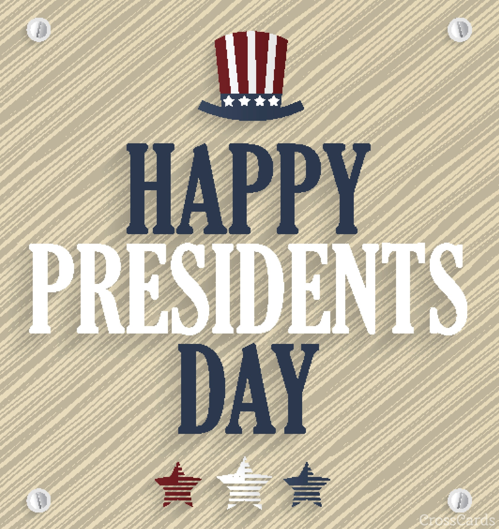 Happy Presidents Day ecard, online card