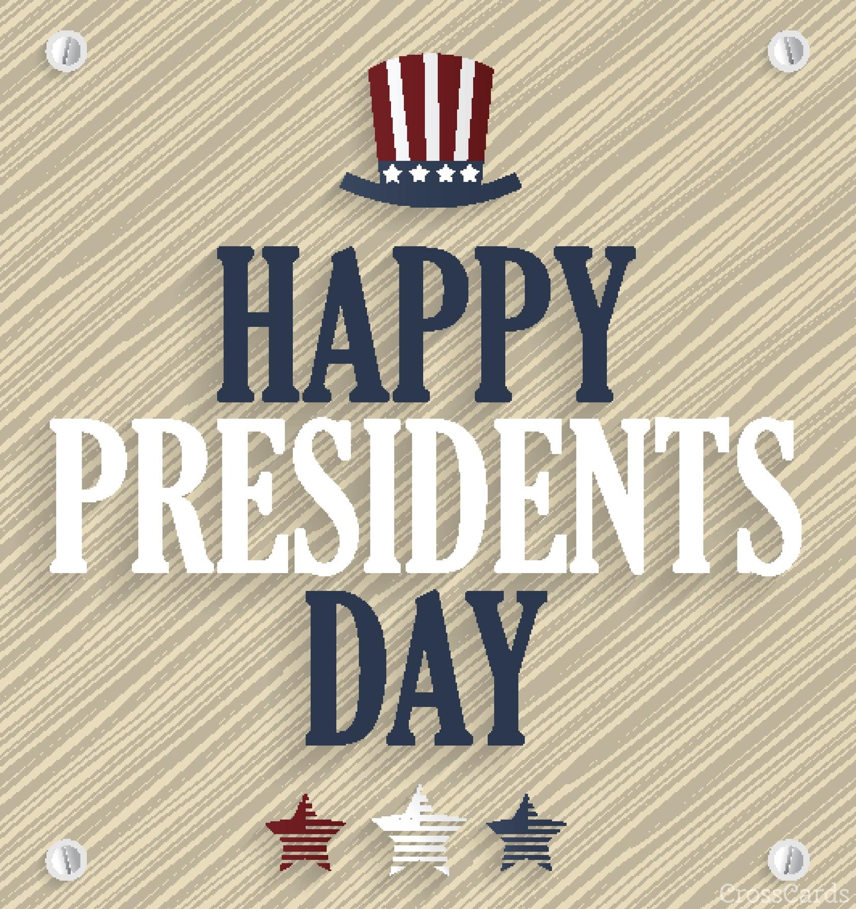 Happy Presidents Day ecard, online card