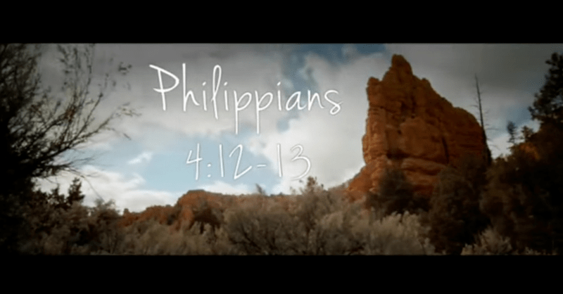 You KNOW It's Coming, But This Powerful Version of Philippians 4 Delivers the Chills Anyway!