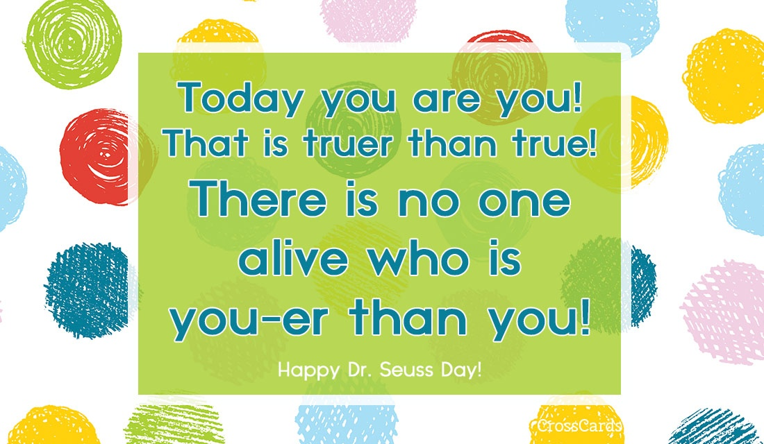 Happy Dr. Seuss Day! (3/2) ecard, online card