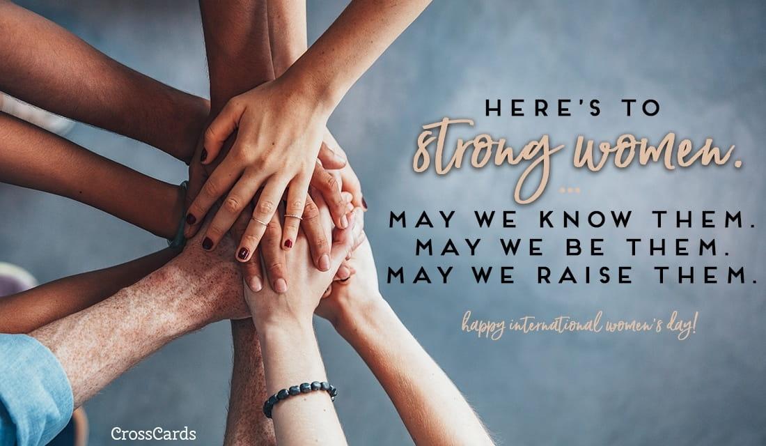 Happy International Women's Day! (3/8) ecard, online card