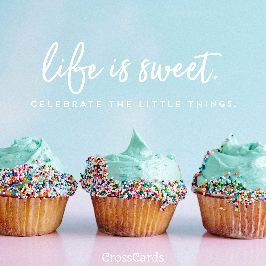 Life is Sweet ecard, online card