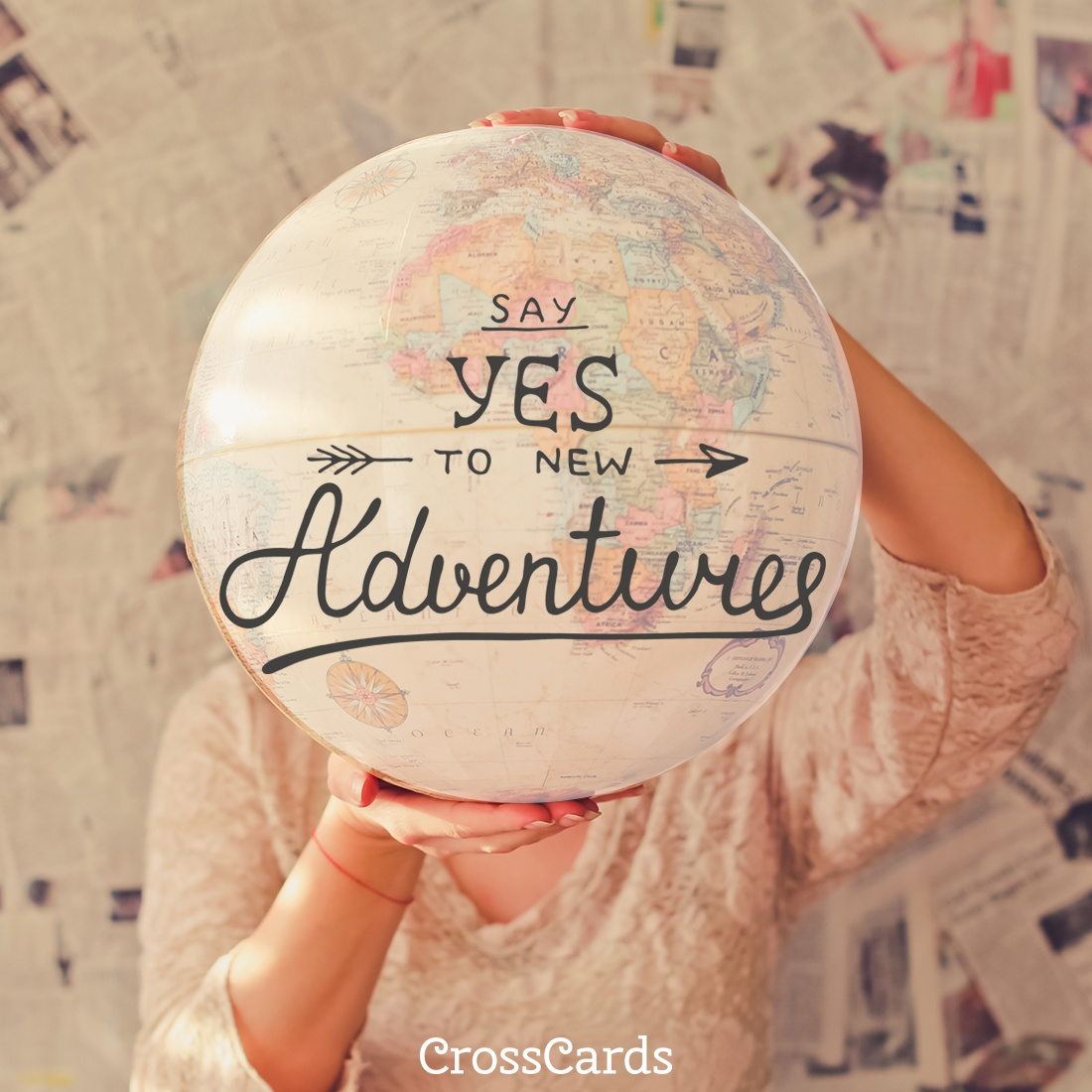Say Yes to Adventure ecard, online card