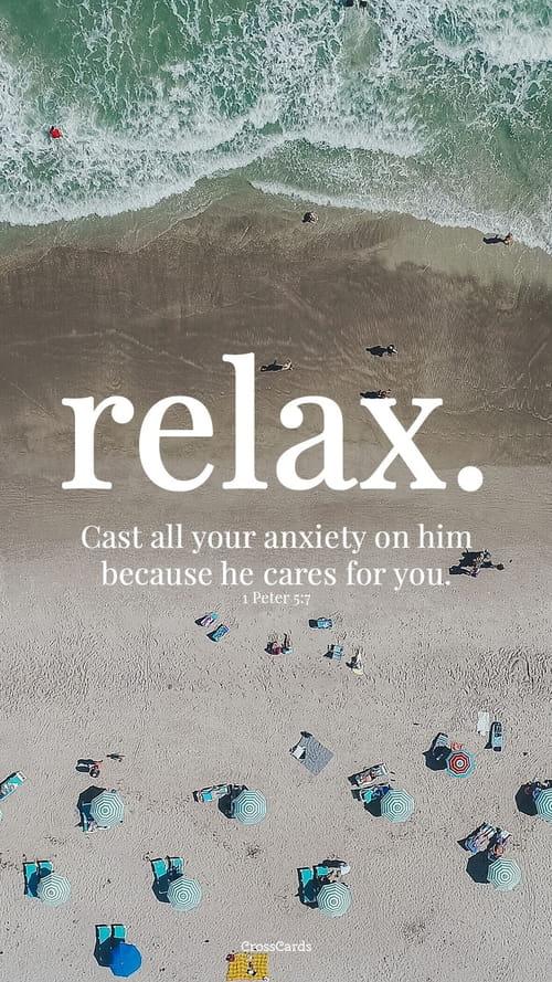 Relax Mobile Phone Wallpaper