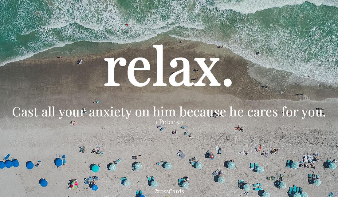 Relax. ecard, online card