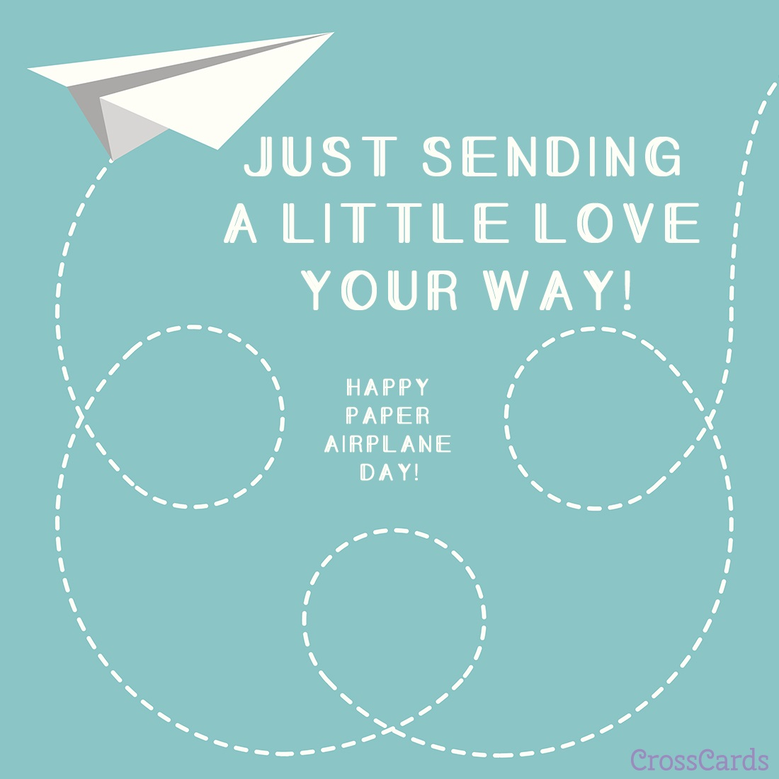 Happy Paper Airplane Day! (5/26) ecard, online card