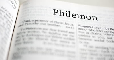 Philemon 1:1 - Paul, a prisoner of Christ Jesus, and Timothy