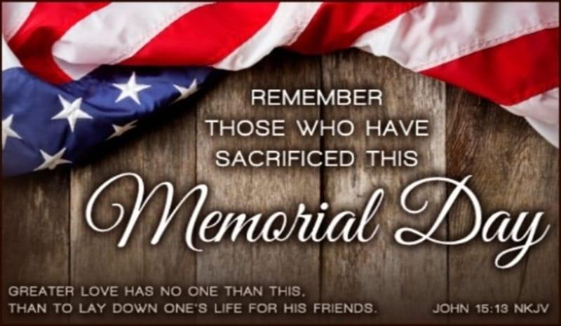 8 Memorial Day Bible Verses - Best Scriptures About Honor