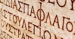 4. In ancient Greek, Hebrew and Latin letters represented numerals according to their order in the alphabet.