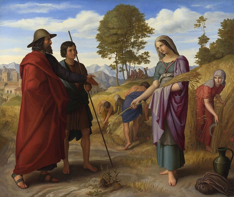 Ruth and Boaz - Bible Story Verses & Meaning
