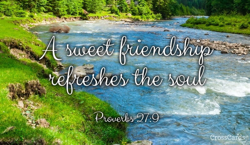Image result for proverbs 27:9 scenic river