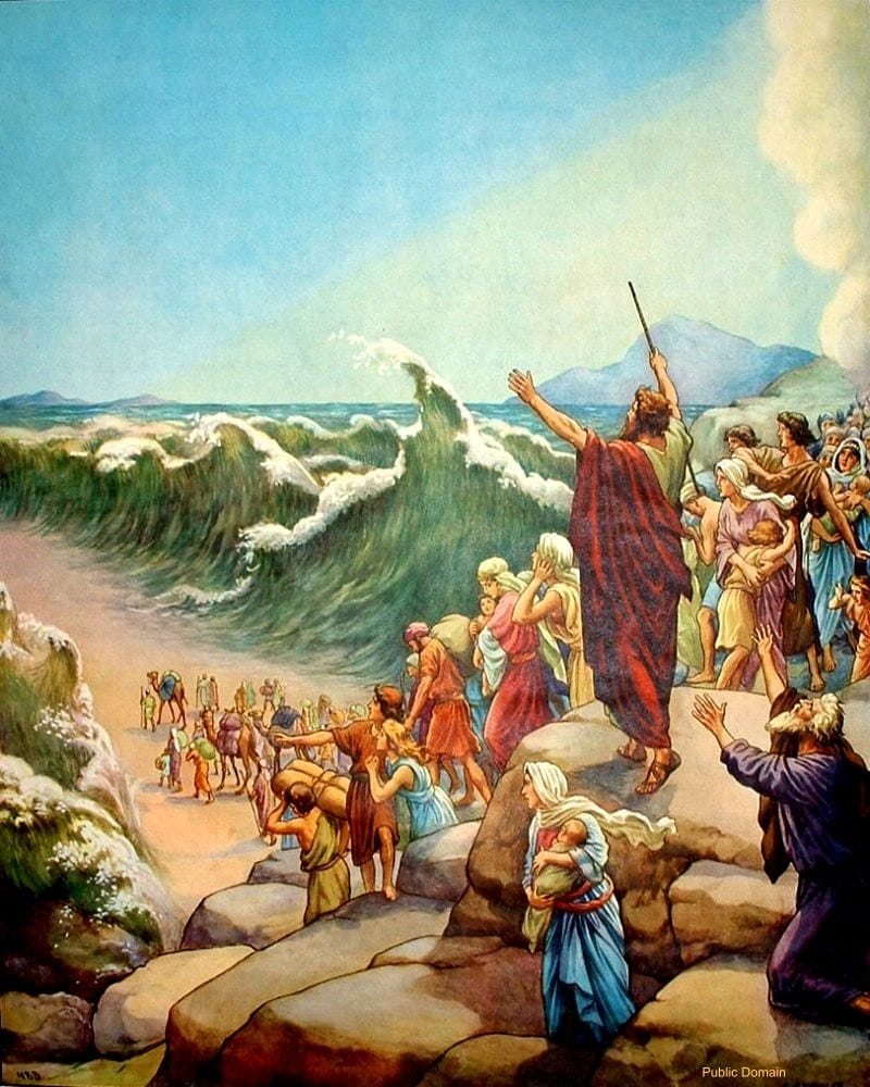 Crossing the Red Sea - Bible Story Verses & Meaning