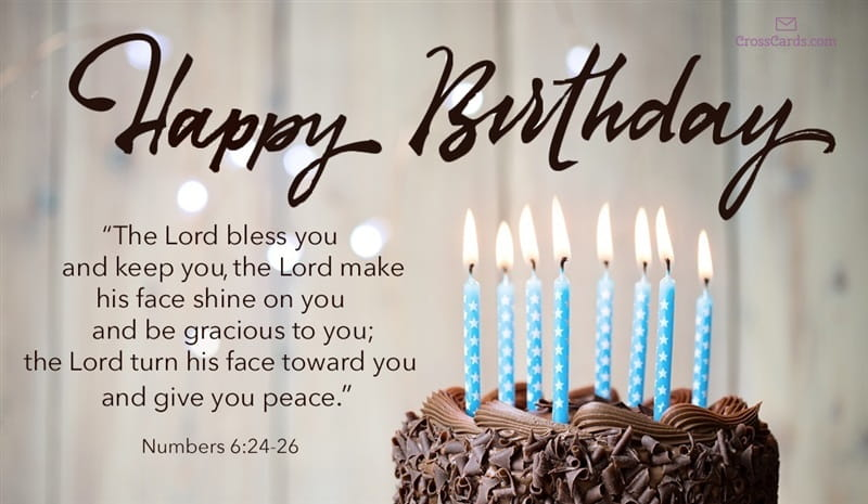 Bible Verses For Birthdays