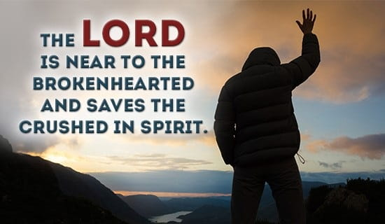lord is near brokenhearted