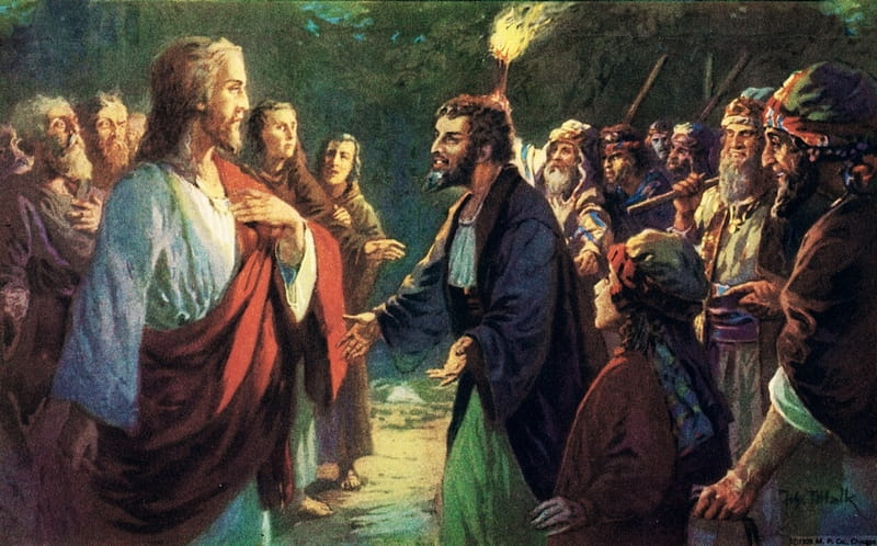 judas betrays jesus bible story verses meaning