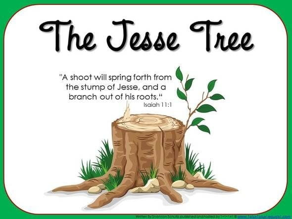 What Is A Jesse Tree Advent Symbolism Meaning
