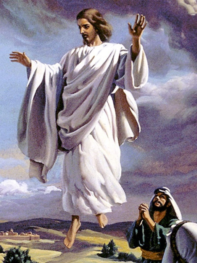 The Ascension Of Jesus Bible Story Verses And Meaninng