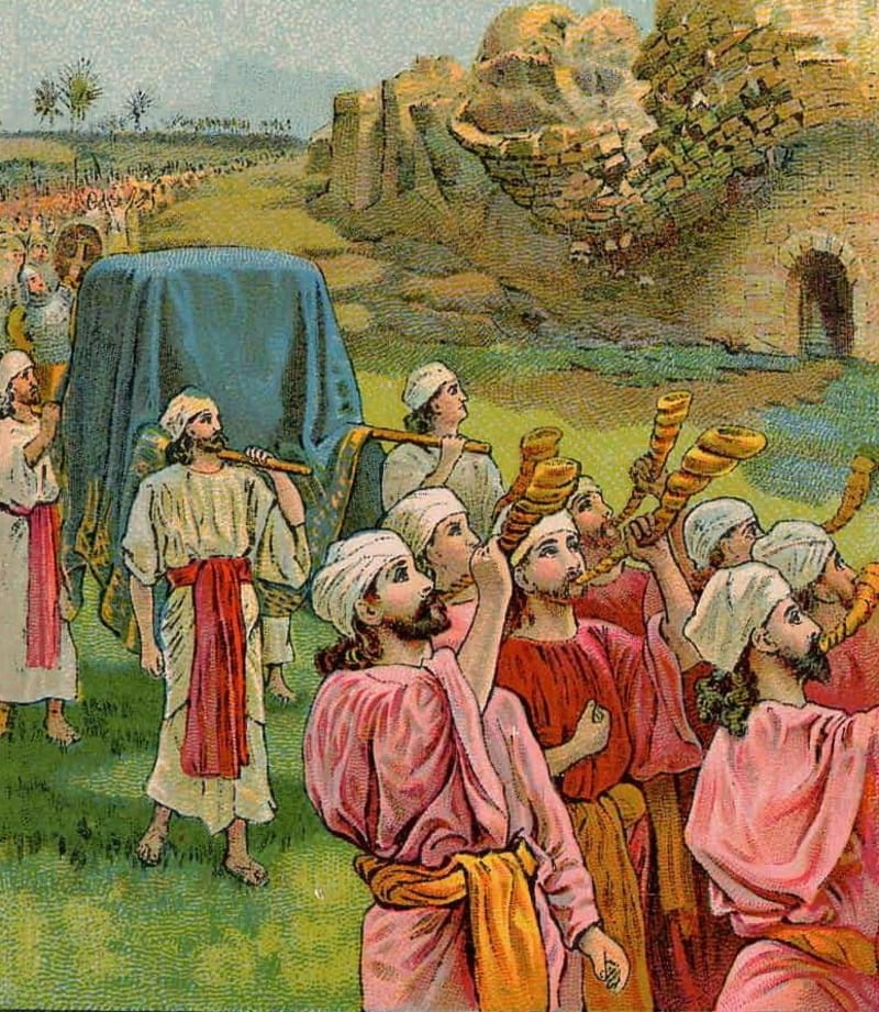 The Battle of Jericho - Bible Story, Verses & Meaning