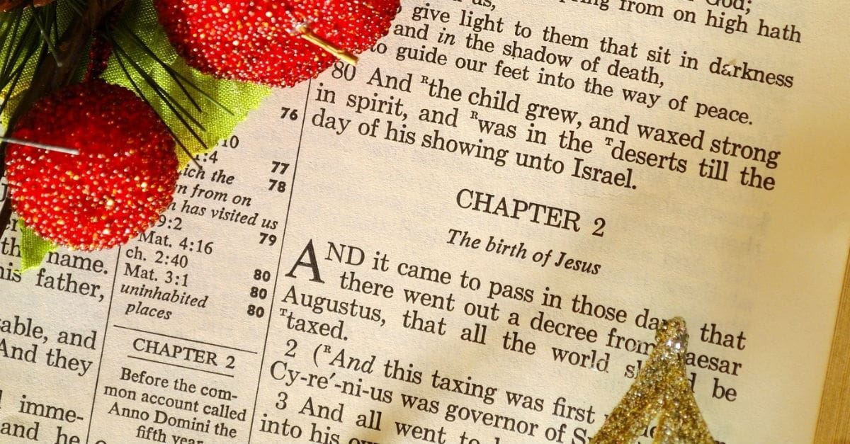 Inspiring Christmas Bible Verses Beautiful Scriptures 2018