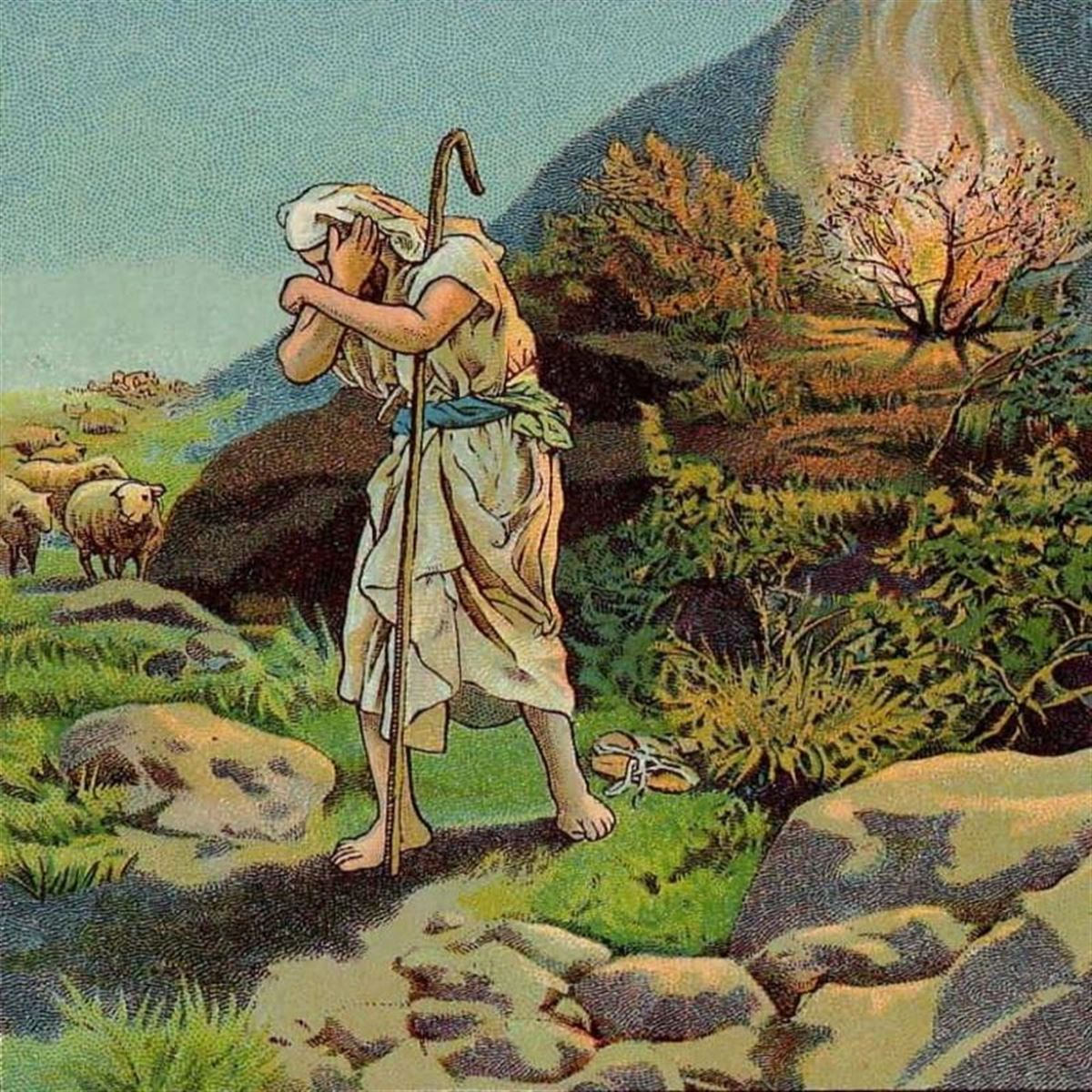 Moses and the Burning Bush - Bible Story