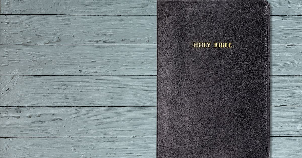 Holy Bible or Good Book