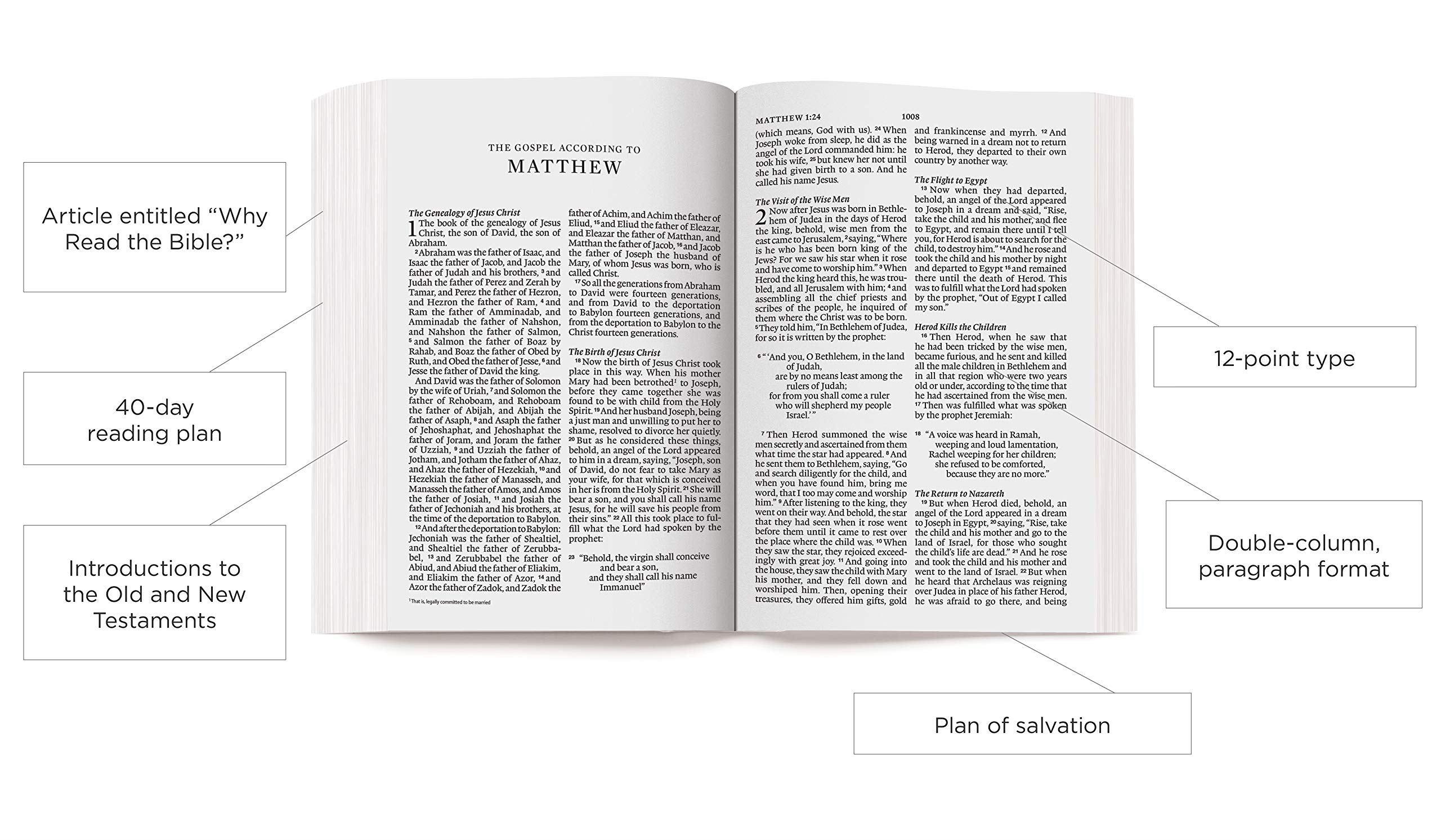 ESV Bible, ESV Bible Large Print, ESV Bible Economy