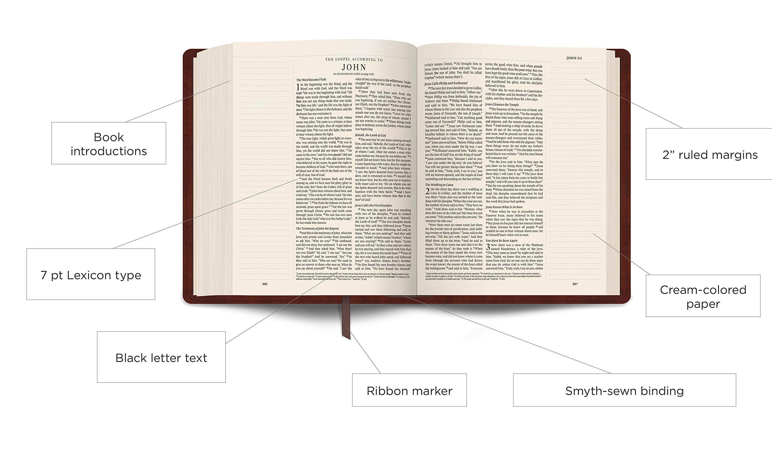 ESV Journaling Bible Info