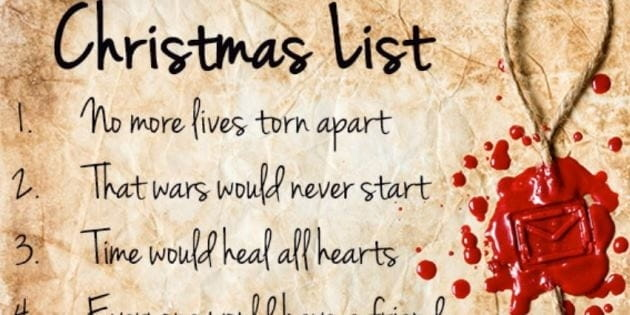 my grown up christmas list david burchett christian blog - My Christmas List